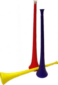 Satan's trumpet: the vuvuzela