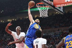 JaVale McGee came up huge against Portland — and man, does it feel weird to be saying that.