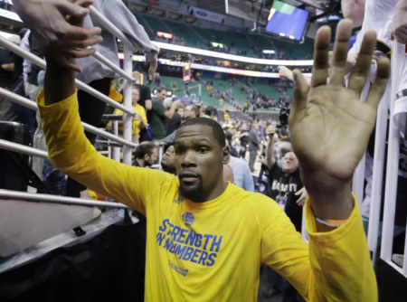 Kevin Durant looms large.